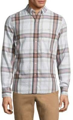 Michael Bastian Long-Sleeve Cotton Casual Button-Down Shirt