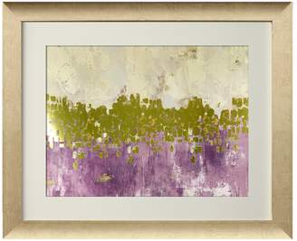 Pi Star Creations Dancing Stars Plum by Gallerie (Framed)