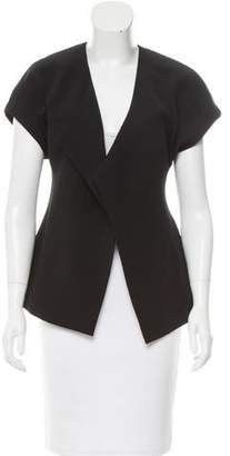 Narciso Rodriguez Lightweight Short Sleeve Open Jacket