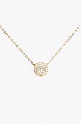 Women's Nadri 'Geo' Small Pendant Necklace $50 thestylecure.com