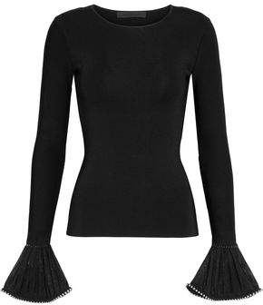 Alexander Wang Embellished Stretch-Knit Top