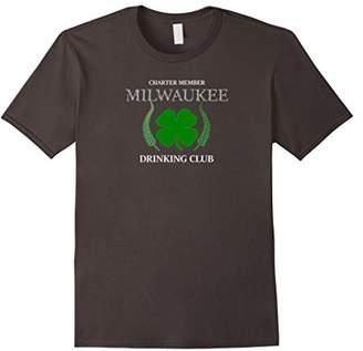 Milwaukee Drinking Club T-shirt Milwaukee Charter Member T-s