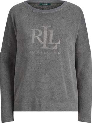 Ralph Lauren Fleece Lounge Top