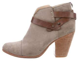 Rag & Bone Kinsey Round-Toe Ankle Boots grey Kinsey Round-Toe Ankle Boots