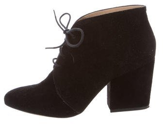 Kate SpadeKate Spade New York Suede Lace-Up Boots