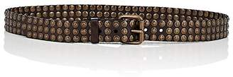 Campomaggi Women's Moro Studded Leather Belt