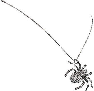 One Kings Lane Vintage 4.5ct Diamond Spider Necklace - Precious & Rare Pieces