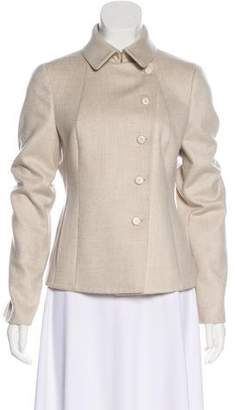Akris Cashmere Collared Jacket