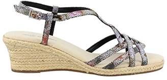Easy Street Shoes Women's Ryanne Espadrille Wedge Sandal