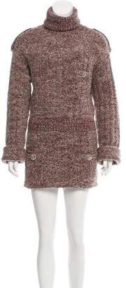 Chanel Alpaca & Wool-Blend Dress