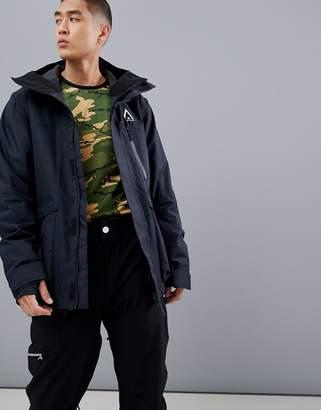Wear Colour Wear Color Ace snowboard jacket in black
