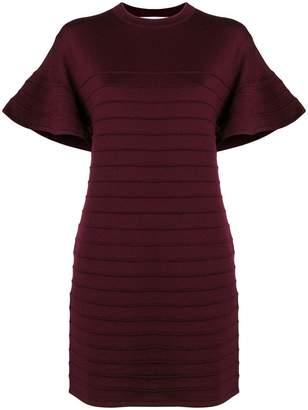 Victoria Beckham Victoria textured T-shirt dress