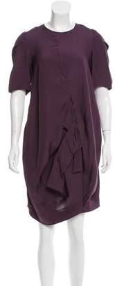 Marni Draped Silk Dress