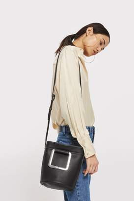 Topshop Lenny Square Handle Tote Bag
