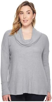 Lucky Brand Plus Size Tulip Hem Sweatshirt Women's Sweatshirt