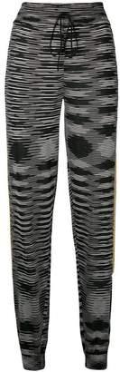 M Missoni patterned sweatpants