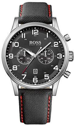 BOSS Mens Chronograph Aeroliner 1512919 Watch