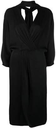 Diane von Furstenberg longsleeved wrap dress
