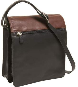 Derek Alexander Leather Utility Full Flap Full Size Ladies Organizer Shoulder Bag