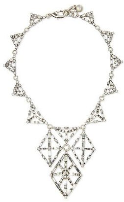 Lulu Frost Proxima Crystal Statement Necklace $488 thestylecure.com