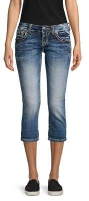 Miss Me Faded Cropped Jeans