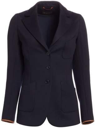 Loro Piana Karissa Wool-Blend Blazer Jacket