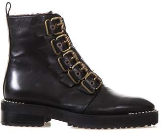 ras Jewel Buckle Boot