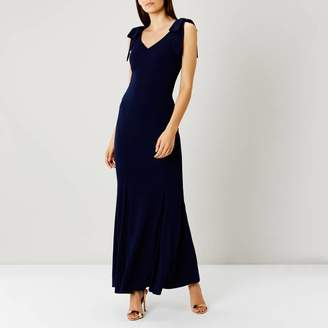 Navy Ray Jersey Bridesmaid Dress