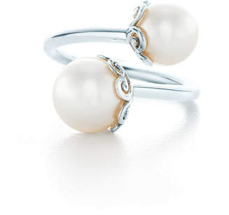 Tiffany & Co. Paloma's Venezia Goldoni heart pearl ring