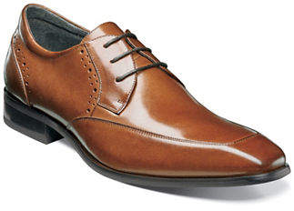 Stacy Adams Polished Leather Manchester Brogue Shoes
