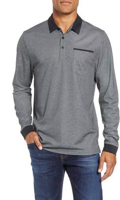 Travis Mathew Kay Regular Fit Long Sleeve Polo Shirt