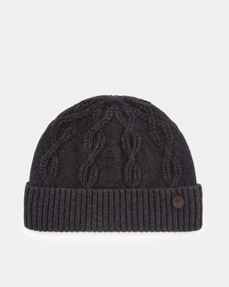 Ted Baker FOWEY Cable knit wool hat