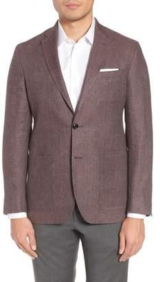 Ted Baker Kyle Trim Fit Linen & Wool Blazer
