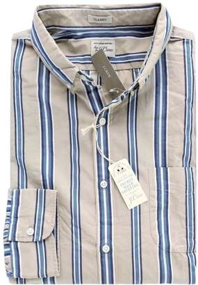 J.Crew J. Crew - Men's - Classic Fit - Striped Secret Washed Shirt