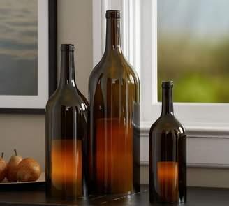 Pottery Barn Wine Bottle Hurricane