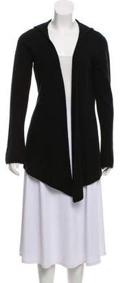 Minnie Rose Hooded Cashmere Cardigan