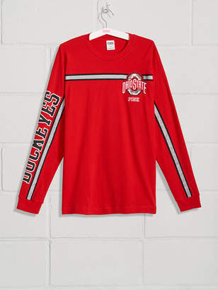 PINK The Ohio State University Bling Long Sleeve Campus Tee