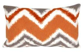 Liora Manné Visions III Zigzag Ikat Indoor-Outdoor Pillow