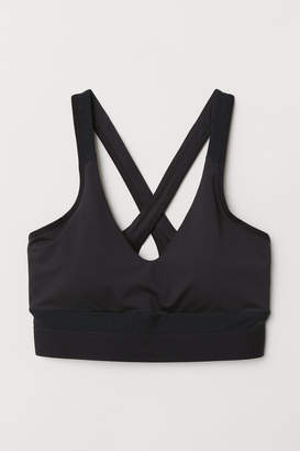 H&M Sports Bra Low support - Black