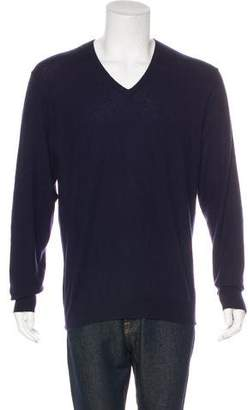 Ralph Lauren Black Label Cashmere V-Neck Sweater