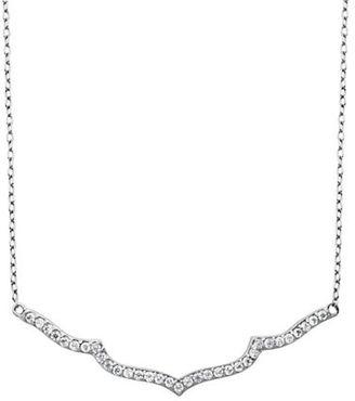 Lord & Taylor Cubic Zirconia Chevron Necklace $60 thestylecure.com