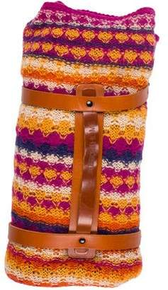 Missoni Mohair-Blend Travel Blanket & Carrier