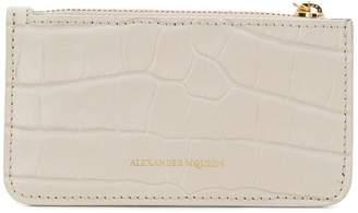 Alexander McQueen skull coin cardholder