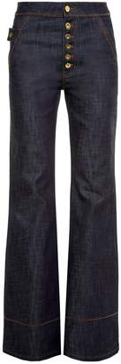 Ellery Phoenix high-rise flared jeans