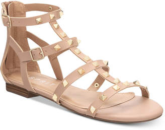 Esprit Keira Embellished Gladiator Flat Sandals Women's Shoes