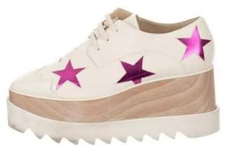 Stella McCartney Low-Top Platform Sneakers Beige Low-Top Platform Sneakers