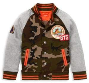 Ralph Lauren Baby, Little& Boy's Patch Camo Bomber Jacket