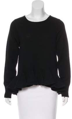 Co Wool Flounced Sweater w/ Tags