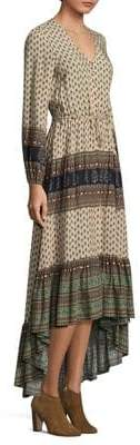 Nightcap Clothing Southwestern Ruffle Gown