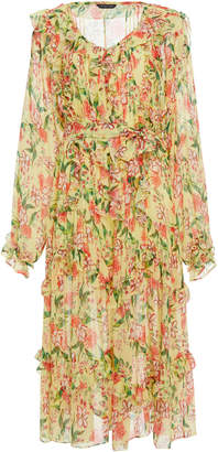 Marissa Webb Everett Silk Print Dress